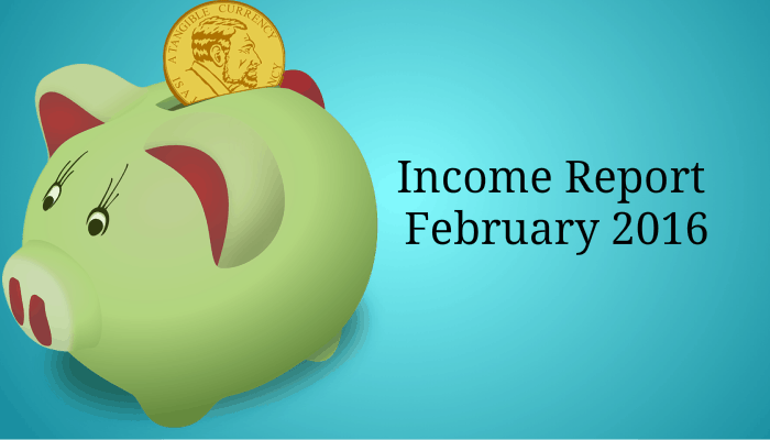 Income report feb